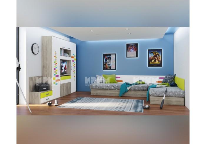 Мебели за детска стая, предназначени за две деца